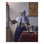 Johannes Vermeer, Young Woman with a Water Jug Poster