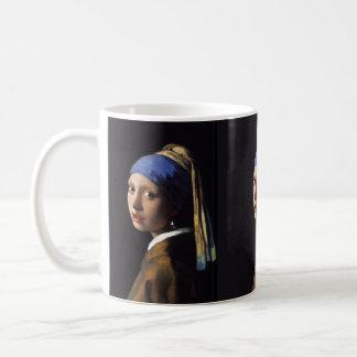 Johannes Vermeer's Girl with a Pearl Earring Coffee Mug