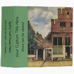 Johannes Vermeer's Street in Delft (circa 1660) Binder