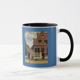 Johannes Vermeer's Street in Delft (circa 1660) Mug