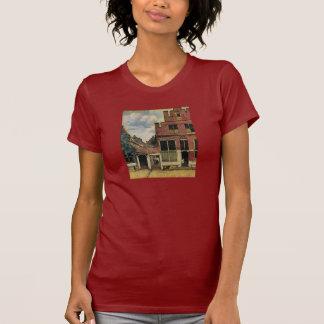 Johannes Vermeer's Street in Delft (circa 1660) T-shirt