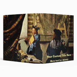 Johannes Vermeer's The Art of Painting circa 1668 Binder