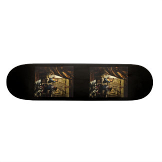 Johannes Vermeer's The Art of Painting circa 1668 Skateboard Deck