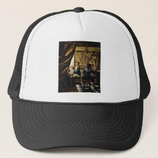 Johannes Vermeer's The Art of Painting circa 1668 Trucker Hat
