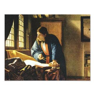 Johannes Vermeer's The Geographer (circa 1669) Card