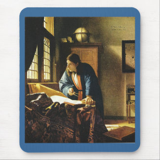 Johannes Vermeer's The Geographer (circa 1669) Mouse Pad