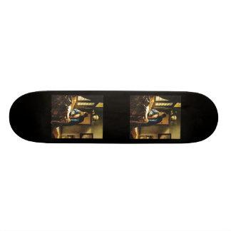 Johannes Vermeer's The Geographer (circa 1669) Skateboard Deck