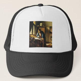 Johannes Vermeer's The Geographer (circa 1669) Trucker Hat