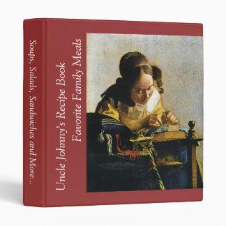 Johannes Vermeer's The Lacemaker (circa 1670) Binder