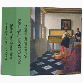 Johannes Vermeer's The Music Lesson (circa1663) Binder