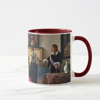 Johannes Vermeer's The Music Lesson (circa1663) Mug
