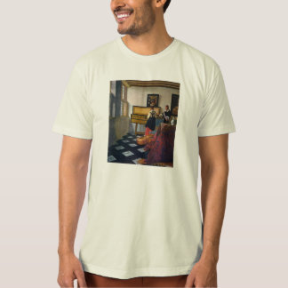 Johannes Vermeer's The Music Lesson (circa1663) T-Shirt