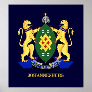 Johannesburg COA Poster