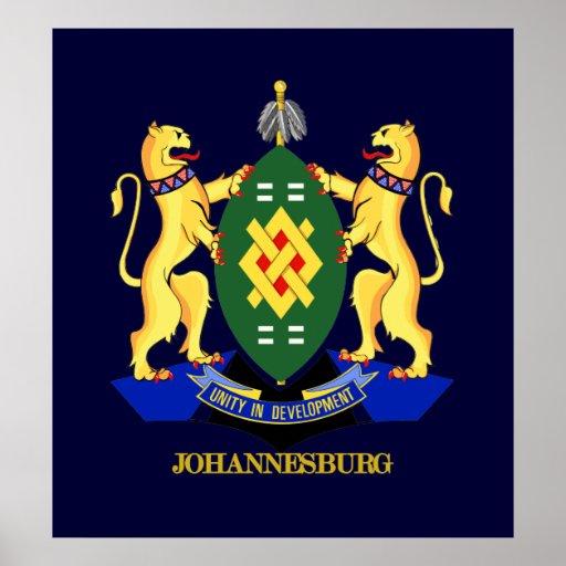 Johannesburg COA Posters