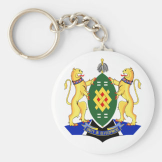Johannesburg Coat of Arms Basic Round Button Keychain