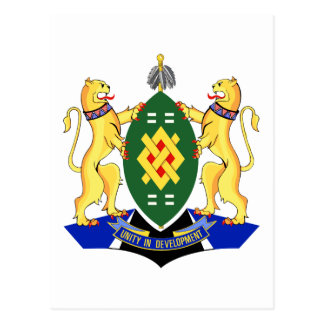 Johannesburg Coat of Arms Postcard
