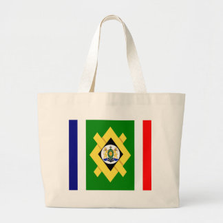 Johannesburg Flag Large Tote Bag