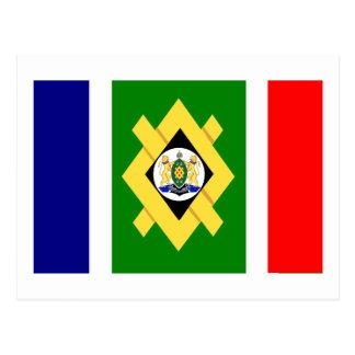Johannesburg Flag Postcard