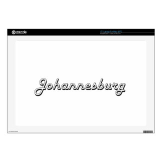 Johannesburg South Africa Classic Retro Design Laptop Decal