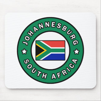 Johannesburg South Africa Mouse Pad