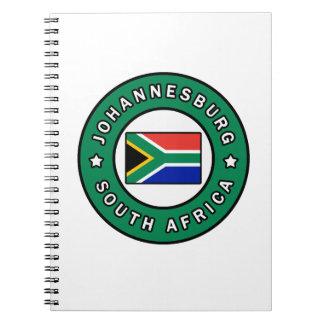 Johannesburg South Africa Notebook