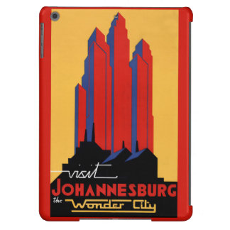 Johannesburg Vintage Travel Poster Restored Case For iPad Air
