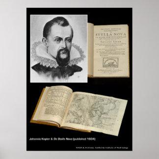 Johannis Kepler y De Stella Nova Poster