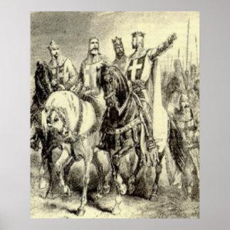 Johanniter knight poster