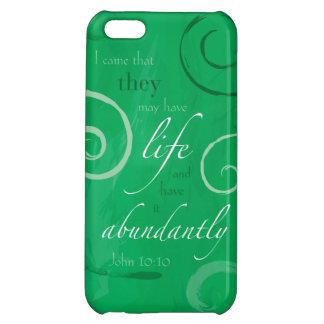 John 10:10 - Life Abundant iPhone 5C Cover