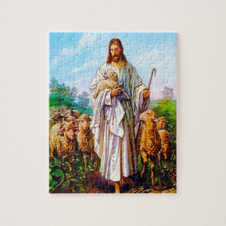 John 10:7-21 I Am the Good Shepherd Puzzle