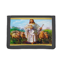 John 10:7-21 I Am the Good Shepherd Tri-fold Wallet