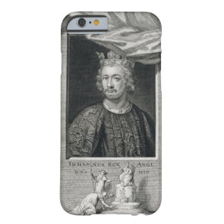 John (1167-1216) King of England from 1199, engrav Barely There iPhone 6 Case
