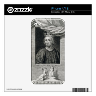 John (1167-1216) King of England from 1199, engrav Decals For The iPhone 4