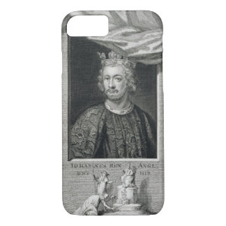 John (1167-1216) King of England from 1199, engrav iPhone 8/7 Case