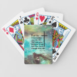 John 11:25 poker cards