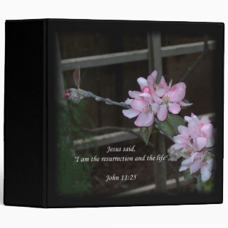 John 11:25 ~ Resurrection and the Life Binder