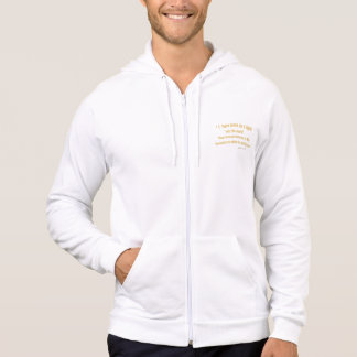 John 12 46 I have Come As a Light 1030.02 Hooded Pullover