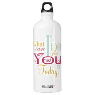 John 13:1-17 Wash Disciples Feet Scripture-Wear Aluminum Water Bottle