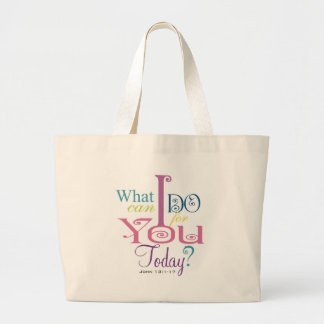 John 13:1-17 Wash Disciples Feet Scripture-Wear Bag