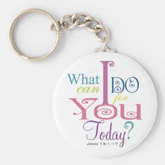 John 13:1-17 Wash Disciples Feet Scripture-Wear Keychain