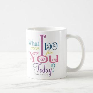 John 13:1-17 Wash Disciples Feet Scripture-Wear Coffee Mugs