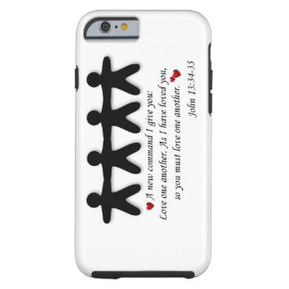John 13:34-35 Love one another iPhone case