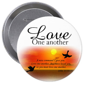 John 13:34-35 Love one another Pin