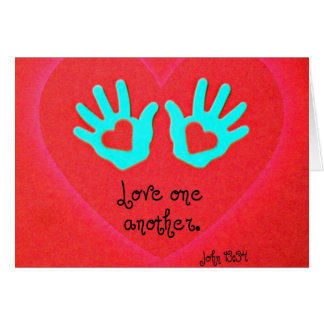 John 13:34 card