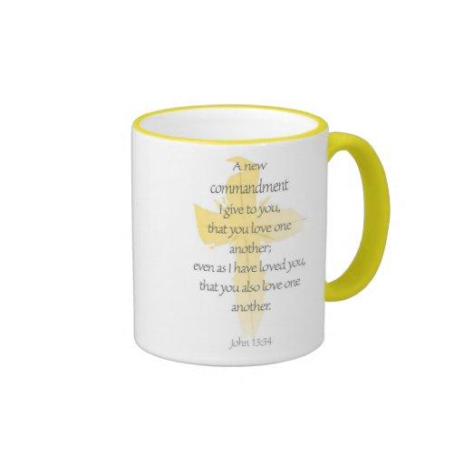 John 13:34 Mug