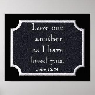 John 13:34 print