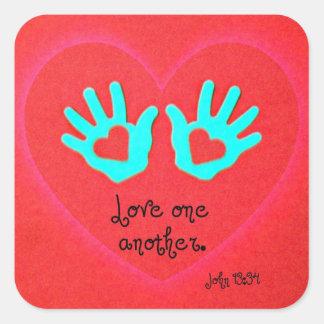 John 13:34 stickers