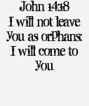 John 14:18 tshirt