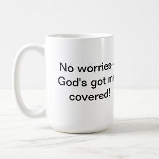 John 14:27 Let not your heart be troubled Coffee Mug