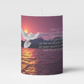 John 14:27 peace candle